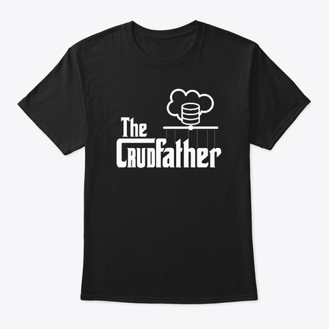 The Cru Dfather Black T-Shirt Front