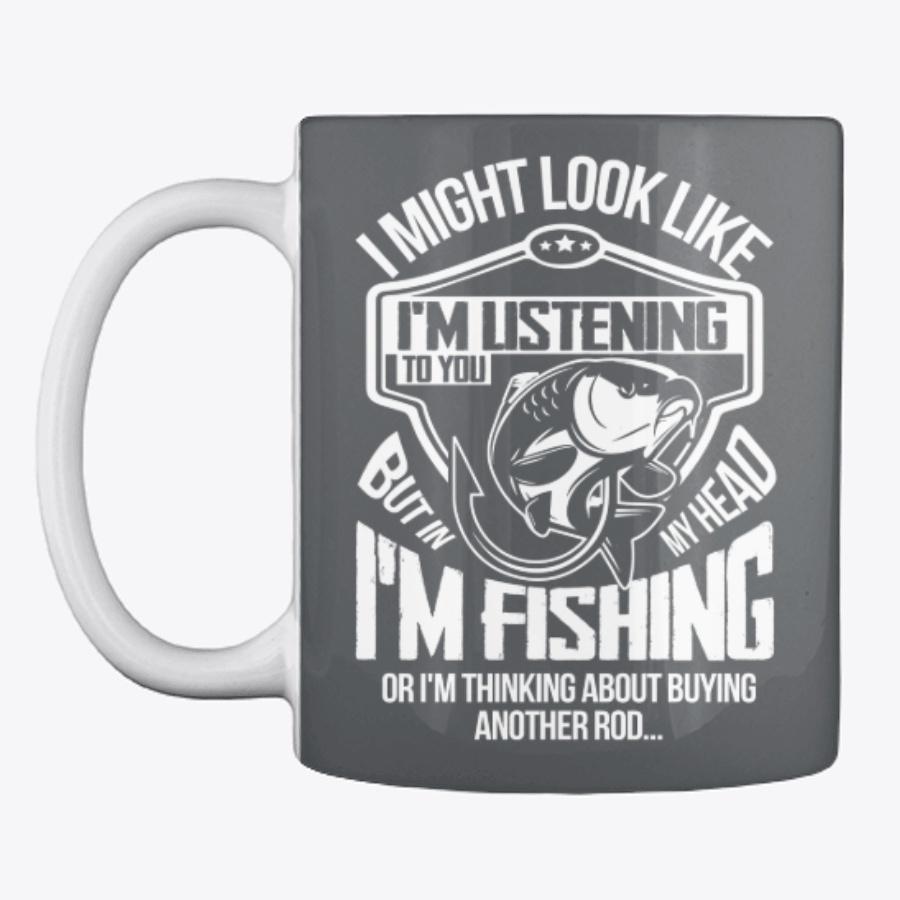 Im Fishing Funny T-shirt - Beauty Cheap Fishing V-neck Shirts Design