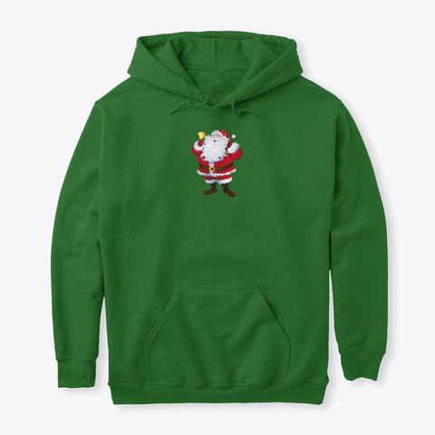 Jolly Santa (Christmas Edition) Irish Green T-Shirt Front