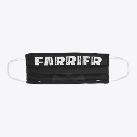 Farrier Mask   Get One Now Black T-Shirt Flat