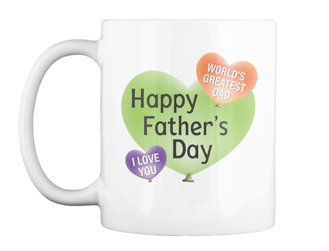 Father's Day Coffee Mug White Mug Front