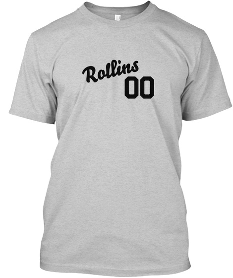 Rollins Varsity Legend Light Steel T-Shirt Front