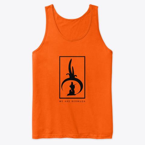 We Are Bermuda Premium Tank Top Orange T-Shirt Front