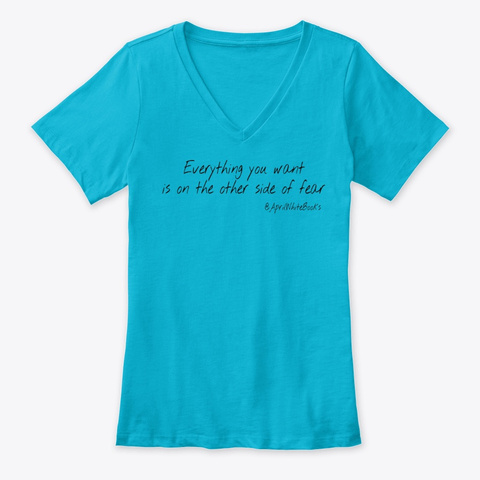 Beyond Fear Turquoise T-Shirt Front