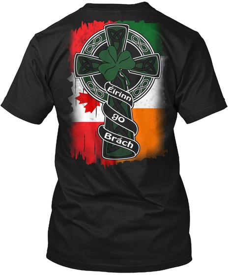Erin Go Bragh Black T-Shirt Back