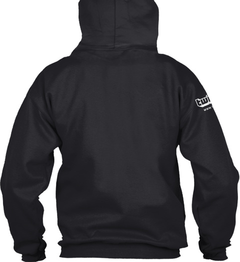 The Hoodie Is Here!!!! Black Sweatshirt Back