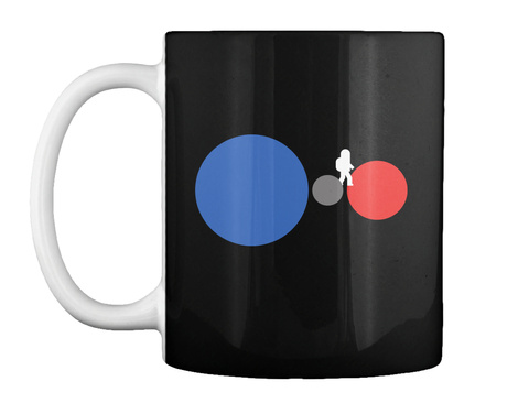 One Small Step Mug [Int] #Sfsf Black Mug Front