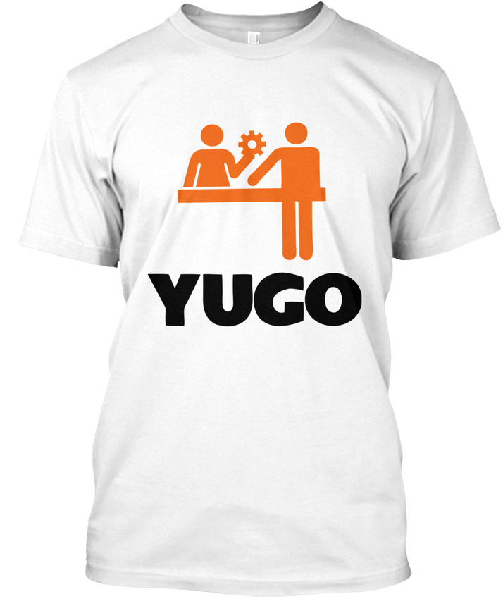 Yugo-Help-Tee-T-shirt-Elegant-S-5XL