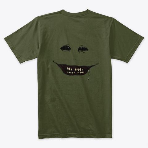 Inner Demon Military Green T-Shirt Back