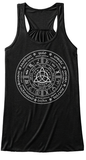 Life Death Rebirth  Black Women's Tank Top Front