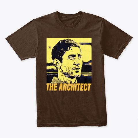 The Architecht Preller  Friar Lounge Ywl Dark Chocolate T-Shirt Front