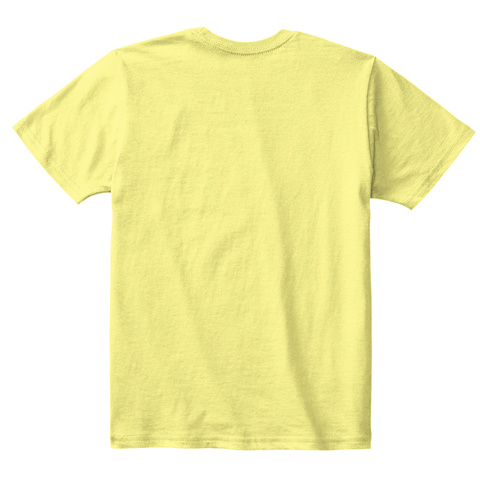 Cheeky Smile And A Wink Childs T Shirt Lemon Yellow  T-Shirt Back