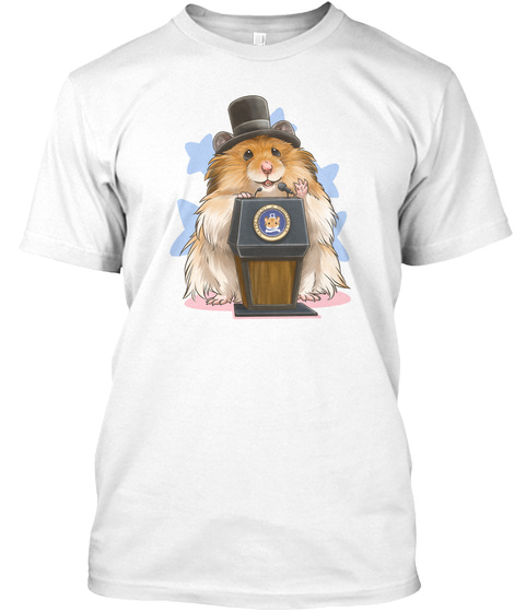 Abrahamster Lincoln T Shirts And Hoodies White T-Shirt Front