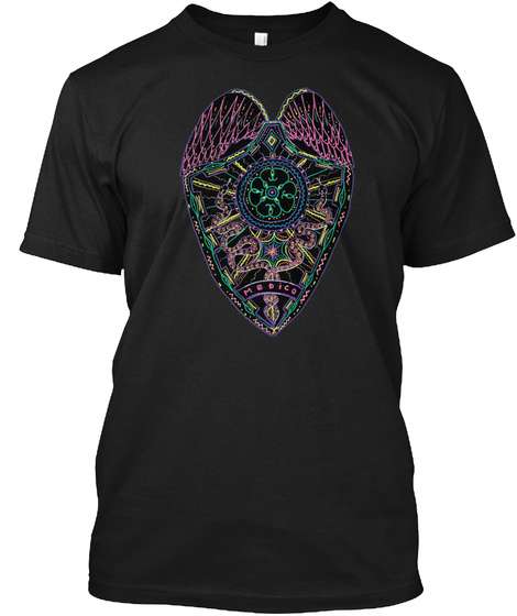 Arcana Black T-Shirt Front