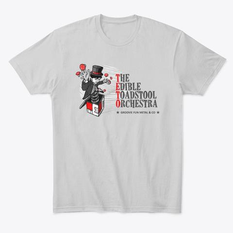 Teto Man Shirt (Light Grey) Light Heather Grey  T-Shirt Front