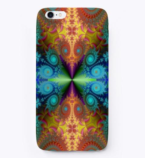 I Phone / Samsung Floral Mandala Case!  Standard T-Shirt Front