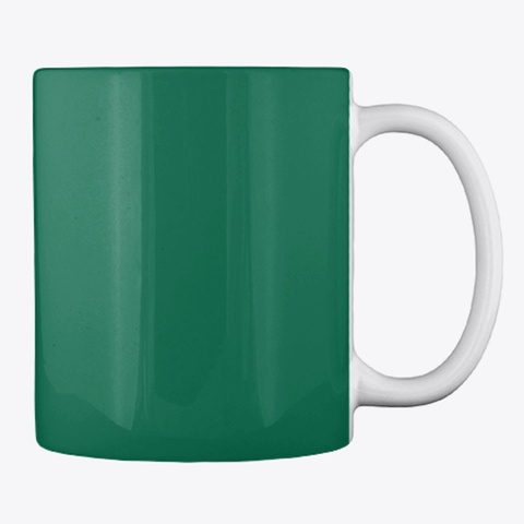 Mug For Tea And Coffee Forest Green T-Shirt Back