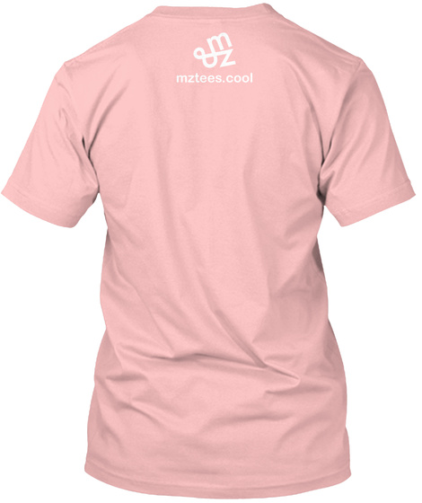 Square Venn Pale Pink T-Shirt Back