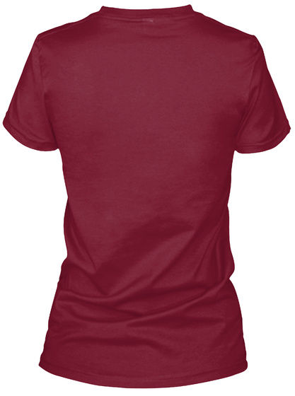 Be Fearless!! Cardinal Red T-Shirt Back