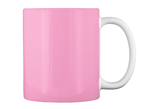 Love Four Legged Kids Like I Do? Pink Mug Back