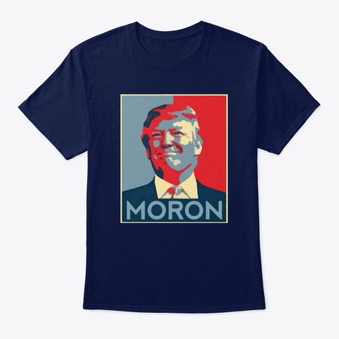 Presidential Harasser Shirt Navy T-Shirt Front