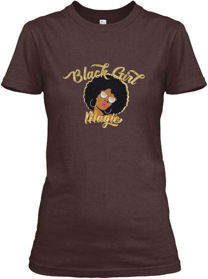 Black Girl Magic Dark Chocolate  Women's T-Shirt Front