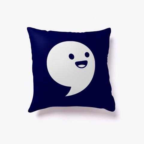 Commaful Pillow Dark Navy T-Shirt Front