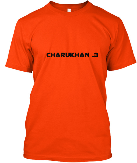 Charukhan Orange T-Shirt Front
