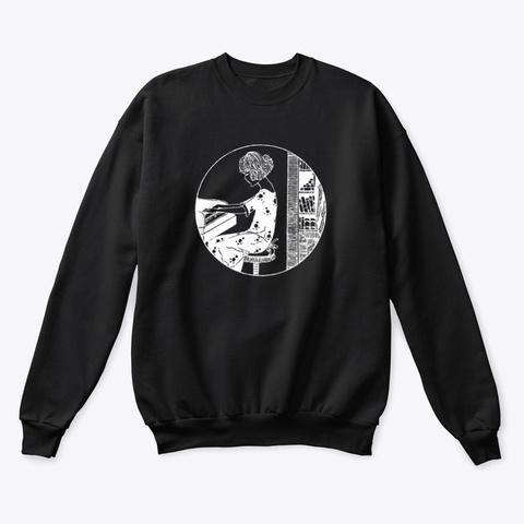 Sweatshirt: Magic Pianist Black T-Shirt Front