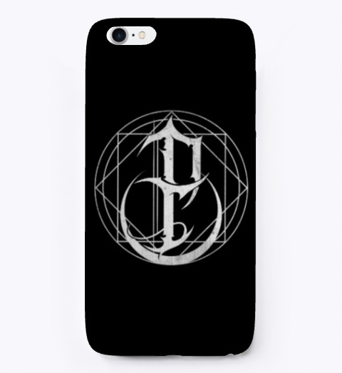 Iphone/Samsung Cases  Black T-Shirt Front