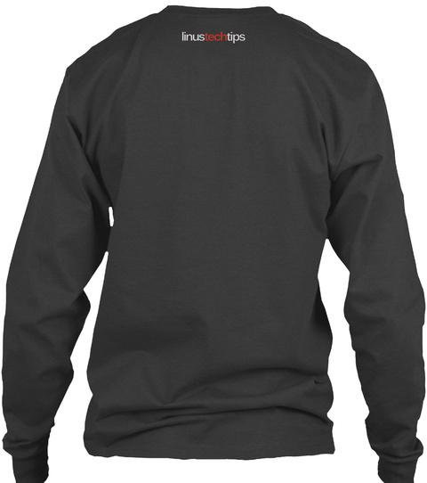 Linustechtips Dark Heather T-Shirt Back