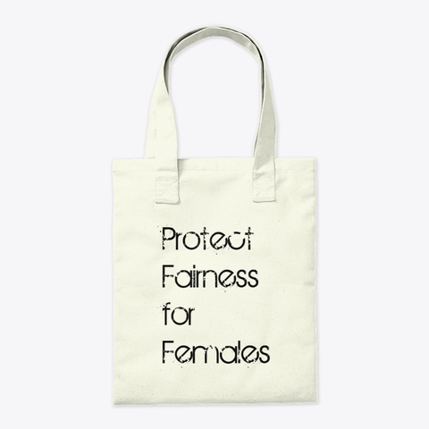 Save Women's Sports Tote Natural T-Shirt Back