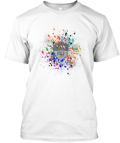 As Roma White T-Shirt Front