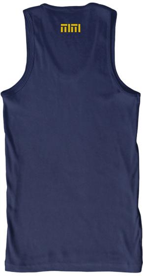 Mm Navy T-Shirt Back