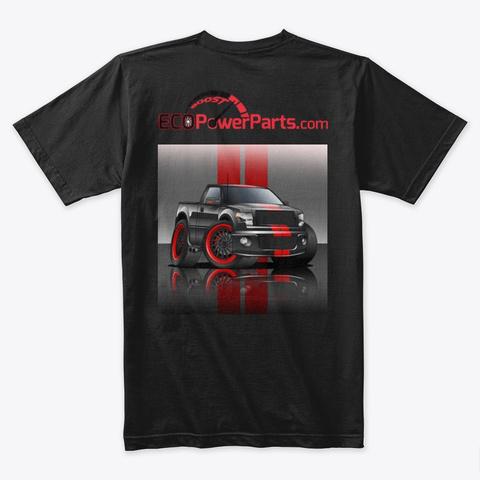 Epp Truck Black T-Shirt Back