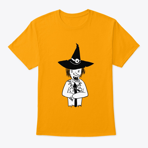 Witch Doctor Gold T-Shirt Front