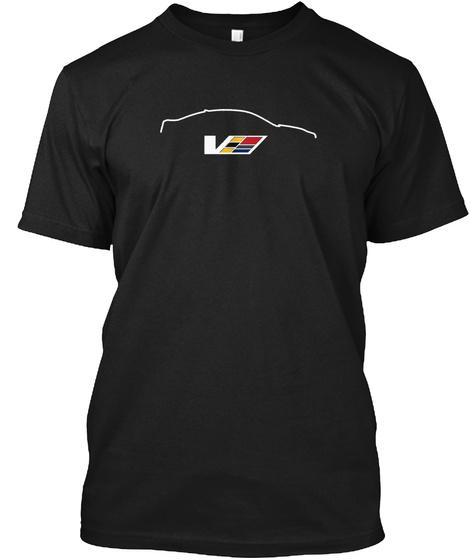 V Black T-Shirt Front