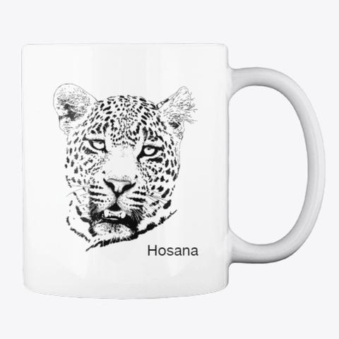 Hosana White T-Shirt Back