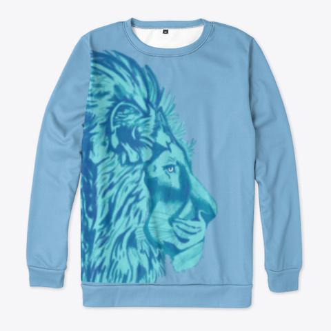 Heart Of A Lion Light Blue T-Shirt Front