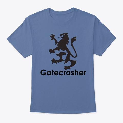Gatecrasher Denim Blue T-Shirt Front