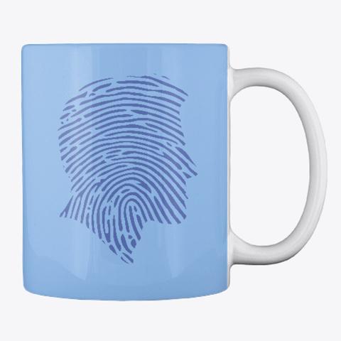 Crime Talk Premium Gear Powder Blue T-Shirt Back