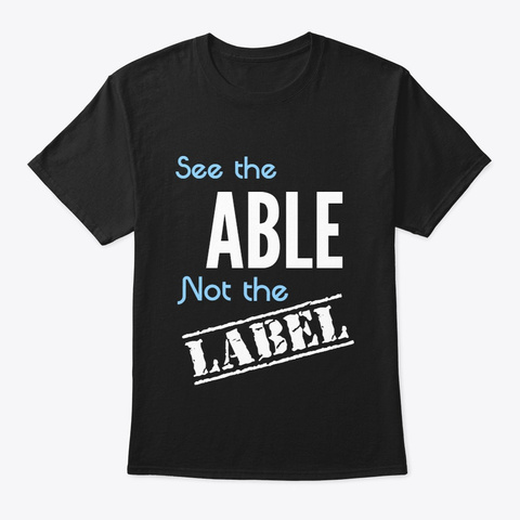 See The Able Black T-Shirt Front