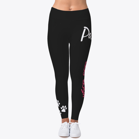 Animal Legging Black T-Shirt Front
