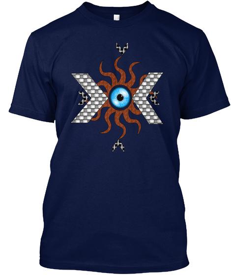 Third Eye  Navy T-Shirt Front