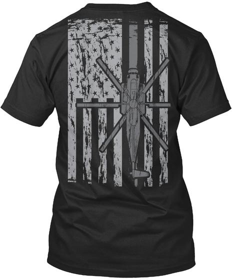 Awesome Ch53 Shirt!  Black T-Shirt Back