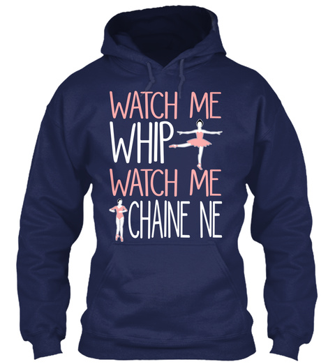 Watch Me Whip Watch Me Chaine Ne Navy T-Shirt Front