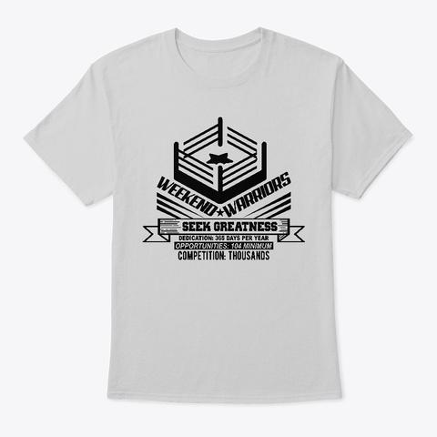 Seek Greatness Light Steel T-Shirt Front