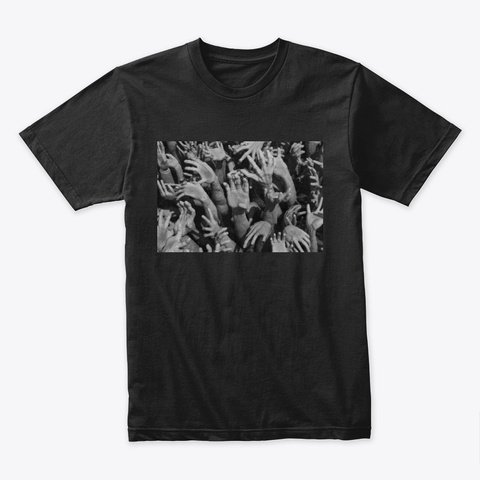 Buddhist Hell   Art Collection. Black T-Shirt Front