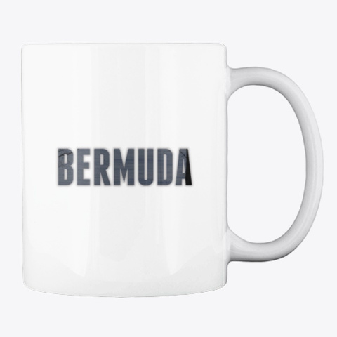 Bermuda 2020 White T-Shirt Back