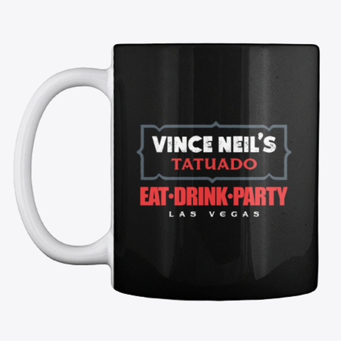 Tatuado Mug Black Mug Front